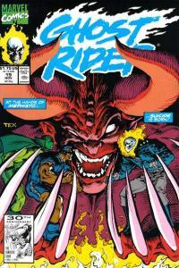 Ghost Rider (1990 series) #19, VF+ (Stock photo)