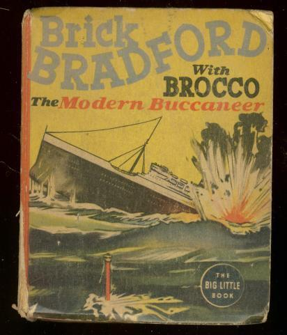 BRICK BRACKFORD #1468-BIG LITTLE BOOK-MODERN BUCCANEER FR