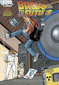 Back To The Future (IDW) #1A VF; IDW | save on shipping - details inside
