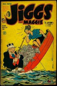 Jiggs and Maggie #24 1953- Li'l Dot- George McManus Harvey Comics VG