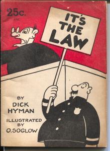 It's The Law 1946-Beacon Books-Dick Hyman-Otto Soglow-VG