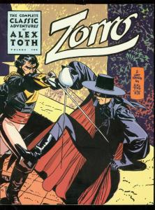 COMPLETE ZORRO VOL 2 TRADE PAPERBACK-ALEX TOTH COMICART VF