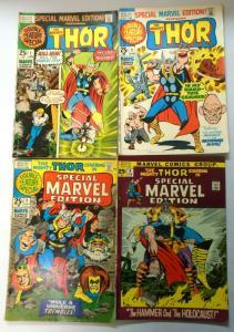 Special Marvel Edition, Set:#1-4, Average 4.0 (1971+1972)