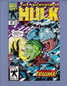 Incredible Hulk #394 NM- 1st Appearance Trauma Marvel 1992