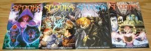 Spooks #1-4 VF/NM complete series R.A. SALVATORE all prestige collectors variant
