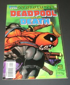 Deadpool and Death Annual #1 NM- 9.2 White Pages 1998 Marvel Comic Book