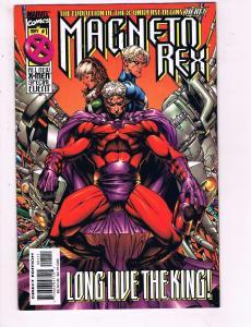 Magneto Rex #1 VF Marvel Comics Long Live The King Comic Book Quicksilver DE9