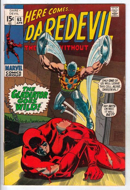Daredevil #63 (Apr-70) VF+ High-Grade Daredevil