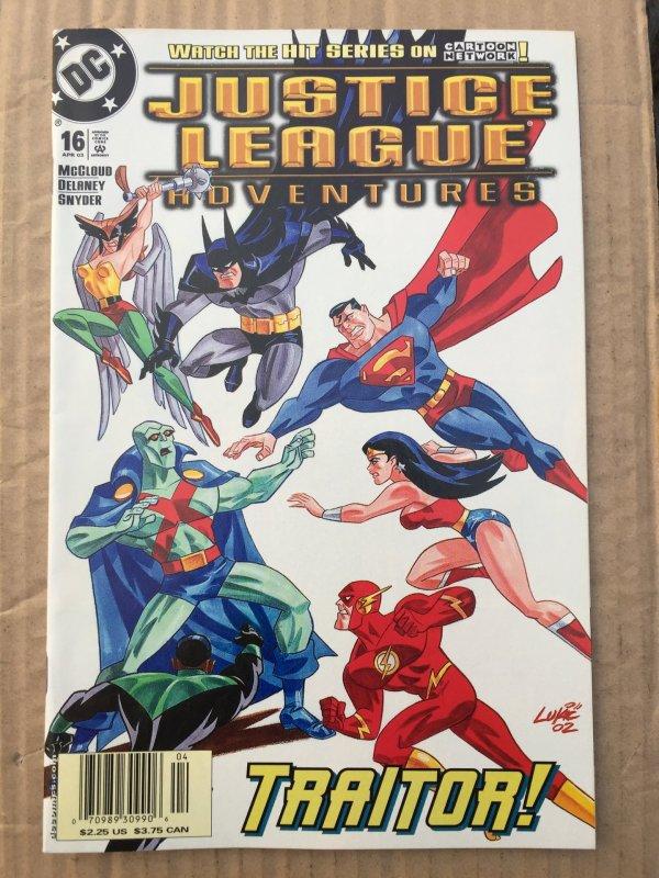 Justice League Adventures #16 (2003)