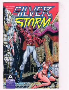 Silver Storm #2 Aircel Comic Book 1990 Cat & Mouse HH1