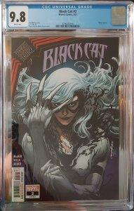 Black Cat #2 CGC 9.8 King in Black