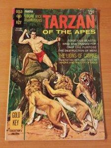 Tarzan #187 ~ VERY GOOD - FINE FN ~  1969 GOLD KEY COMICS