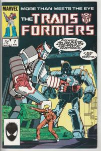 Transformers, The #7 (Oct-85) VF/NM High-Grade Transformers (Optimus Prime)