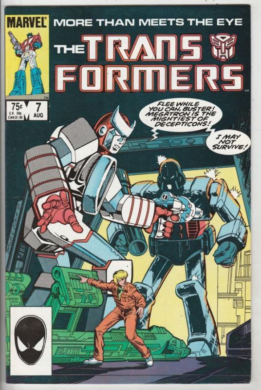 Transformers, The #7 (Oct-85) VF/NM High-Grade Transformers (Optimus Prime)