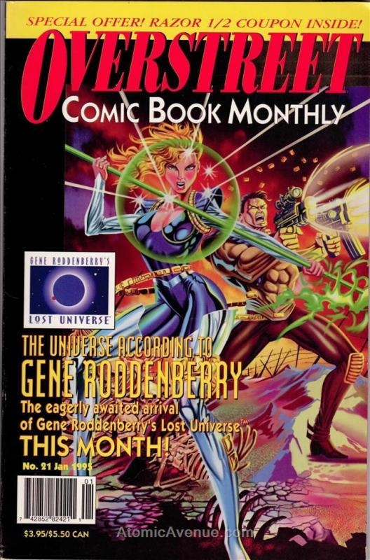 Overstreet's Comic Book Monthly #21 VF; Overstreet | save on shipping - details