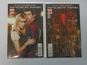 Amazing Spider-Man The Movie set #1+2 (2012) 8.0/VF