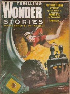 Thrilling Wonder Stories Spring 1954 Pulp Magazine