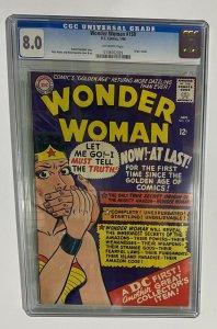 Wonder Woman # 159 CGC 8.0 The Origins of Wonder Woman Retold