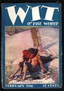 WIT OF THE WORLD 1926 FEB-RARE PULP-GREAT COVER VG+