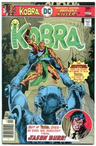 KOBRA #4-GREAT DC ISSUE-HIGH GRADE-KUBERT CVR VF/NM