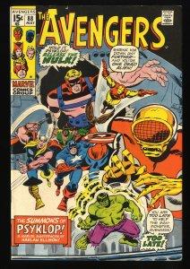 Avengers #88 FN/VF 7.0 Marvel Comics Thor Captain America