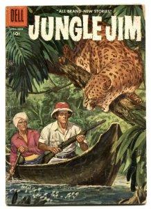 Jungle Jim #8 1956- Dell silver age comic VG