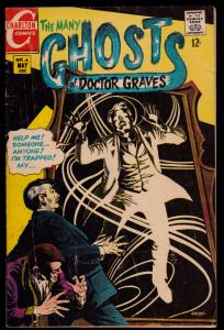 Many Ghosts of Doctor Graves #6 (May 1968, Charlton) 4.0 VG