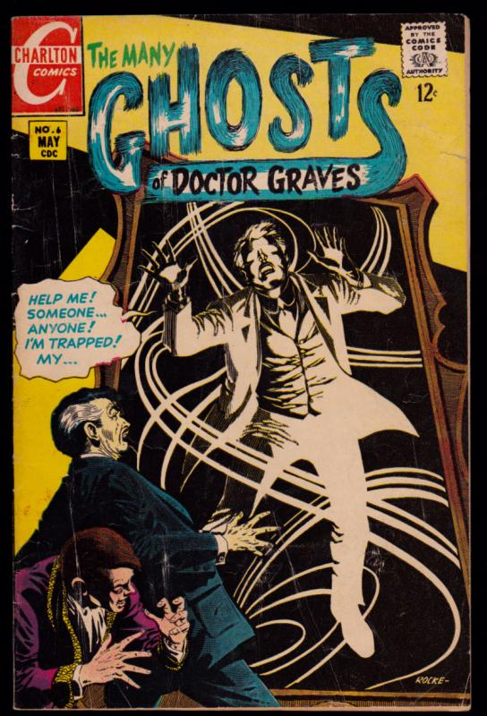 Many Ghosts of Doctor Graves  #6...... 4.0-VG