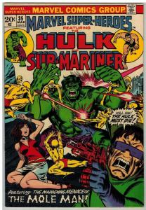 MARVEL SUPER HEROES 35 VF+ Mar. 1973