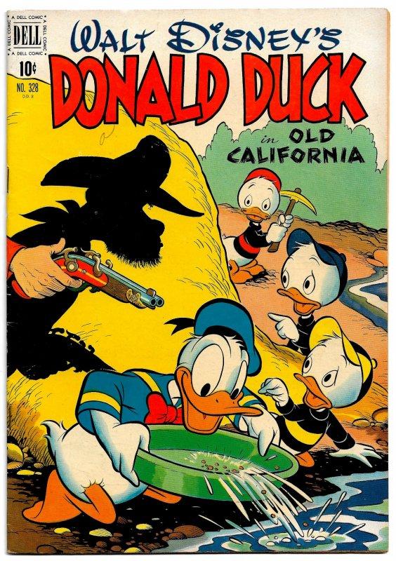 DONALD DUCK 'In Old California' * Dell 4 Color #328 * VF * 1951 Carl Barks!
