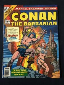 Marvel Treasury Edition Conan The Barbarian #15-1977 FN