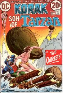 KORAK SON OF TARZAN 52 VF-NM July 1973 COMICS BOOK