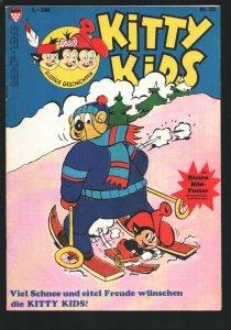 Kitty Kids #19 1980's-Cartoon type humor-German edition- Poster still attache...