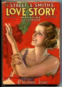 Love Story Pulp December 17 1932- Christmas issue G
