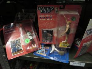 STARTING LINEUP SPORTS FIGURINE LOT F-VF