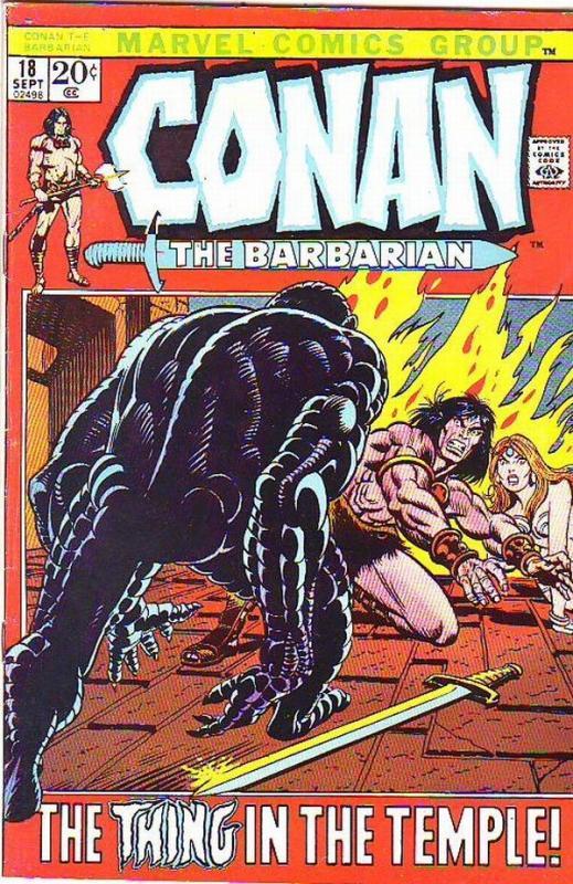 Conan the Barbarian #18 (Sep-72) VF/NM+ High-Grade Conan the Barbarian