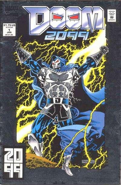Doom 2099 1B NM Stock Image