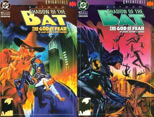 SHADOW OF THE BAT (1992) 17-18 God Of Fear Alan Grant