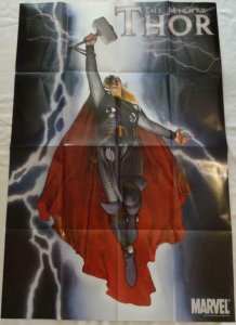 MIGHTY THOR  Promo Poster, 24 x 36, 2011, MARVEL, Unused more in our store 234