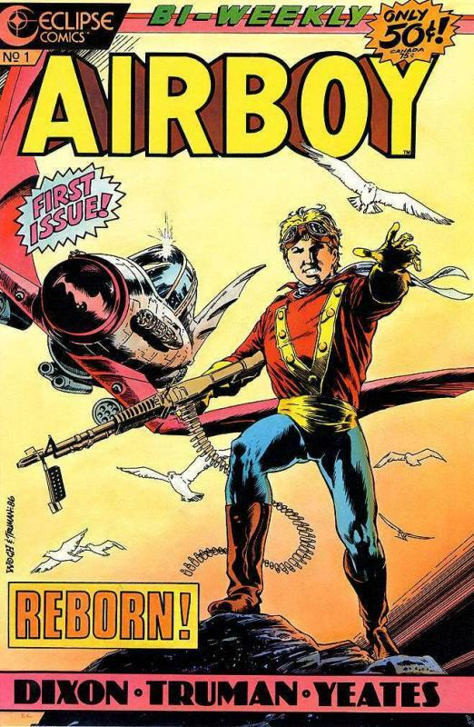 AIRBOY (1986-1989 EC)  1-50 The Complete Series!