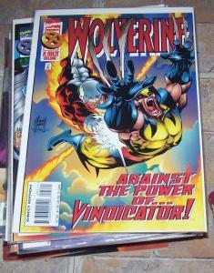 Wolverine #95 (Nov 1995, Marvel) vindicator alpha flight