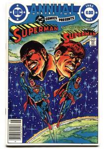 DC Comics Presents Annual #1 comic book 1982-Key Multiverse issue NM-