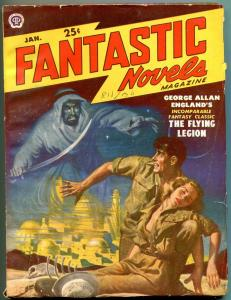 Fantastic Novels Pulp January 1950- George Allan England- VG