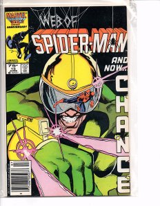 Marvel Comics (1985) Web of Spider-man #15 1st App. Chance