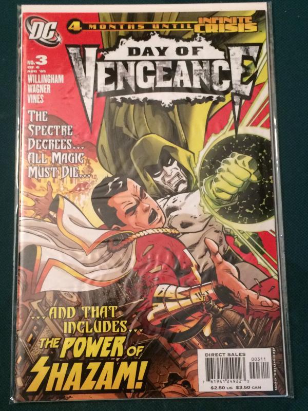 Day of Vengeance #3 of 6 The Spectre vs Shazam