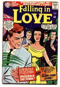FALLING IN LOVE #80 1966-DC ROMANCE COMICS-GLOSSY COVER