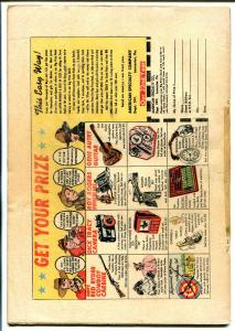 Peter Rabbit #8 1950-Avon-new art-western theme-slapstick humor-G/VG