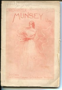 Munsey-Winter 1895-early American mag-pulp fiction-120+ years old-Julia Ward ...