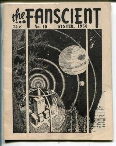 Fanscient #10 1950-Lin Carter-D Bruce Barry-classic fanzine-pulps-G