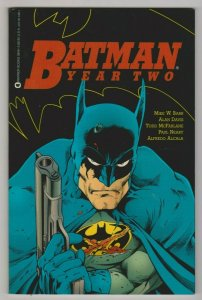 BATMAN YEAR TWO by Mike W. Barr, Alan Davis & Todd McFarlane 1990 TPB DC COMICS